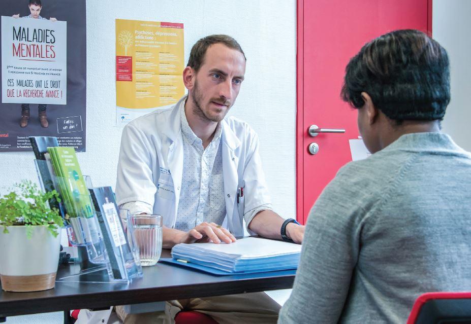 Consultation Centre Expert FondaMental, crédit Tijana Feterman