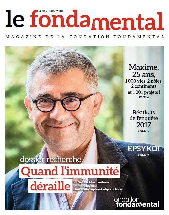 Couverture du magazine Le FondaMental n°1