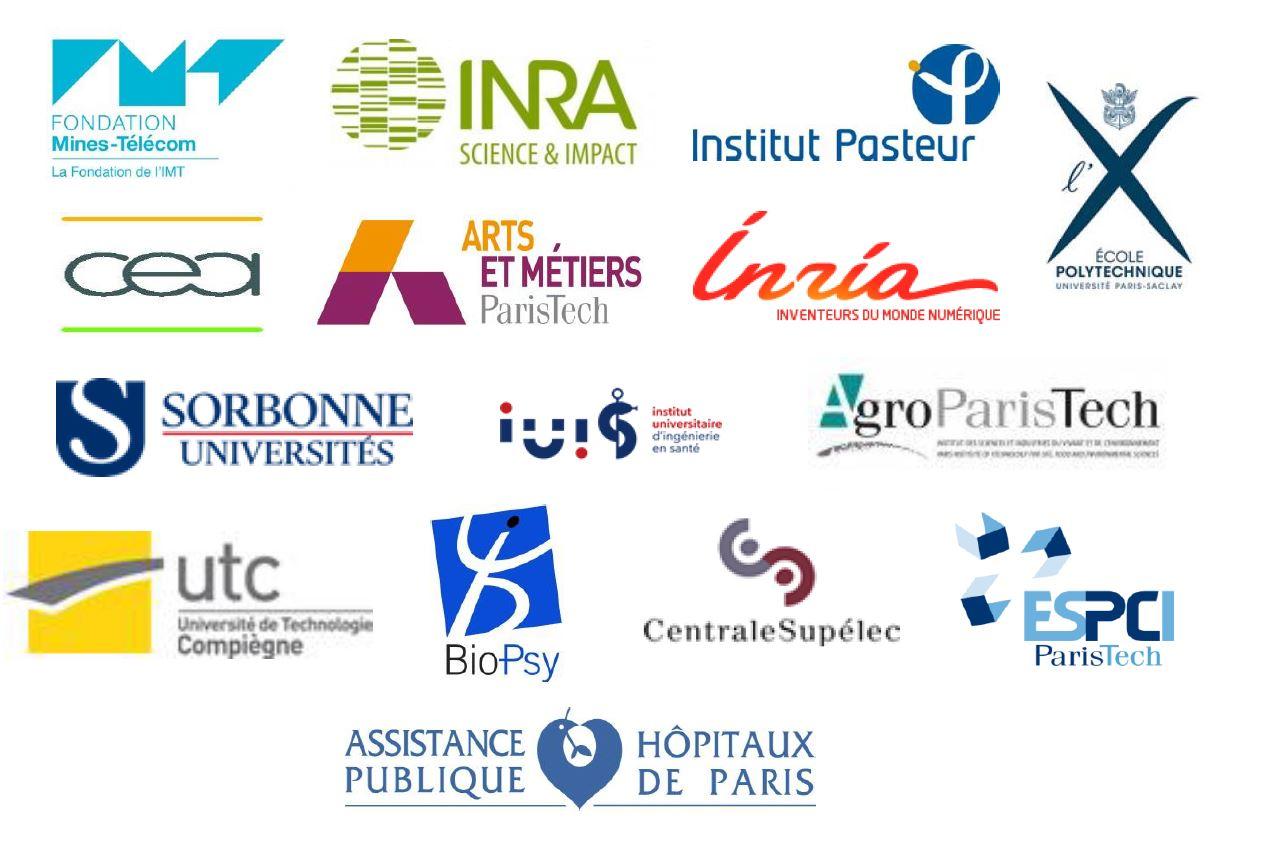 Partenaires institutionnels pour des postes d'accueil en Ile de France - 2018