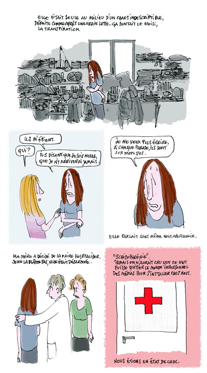 Le jour où ma soeur est devenue schizophrène, 5/8, crédit Fiamma Luzzati