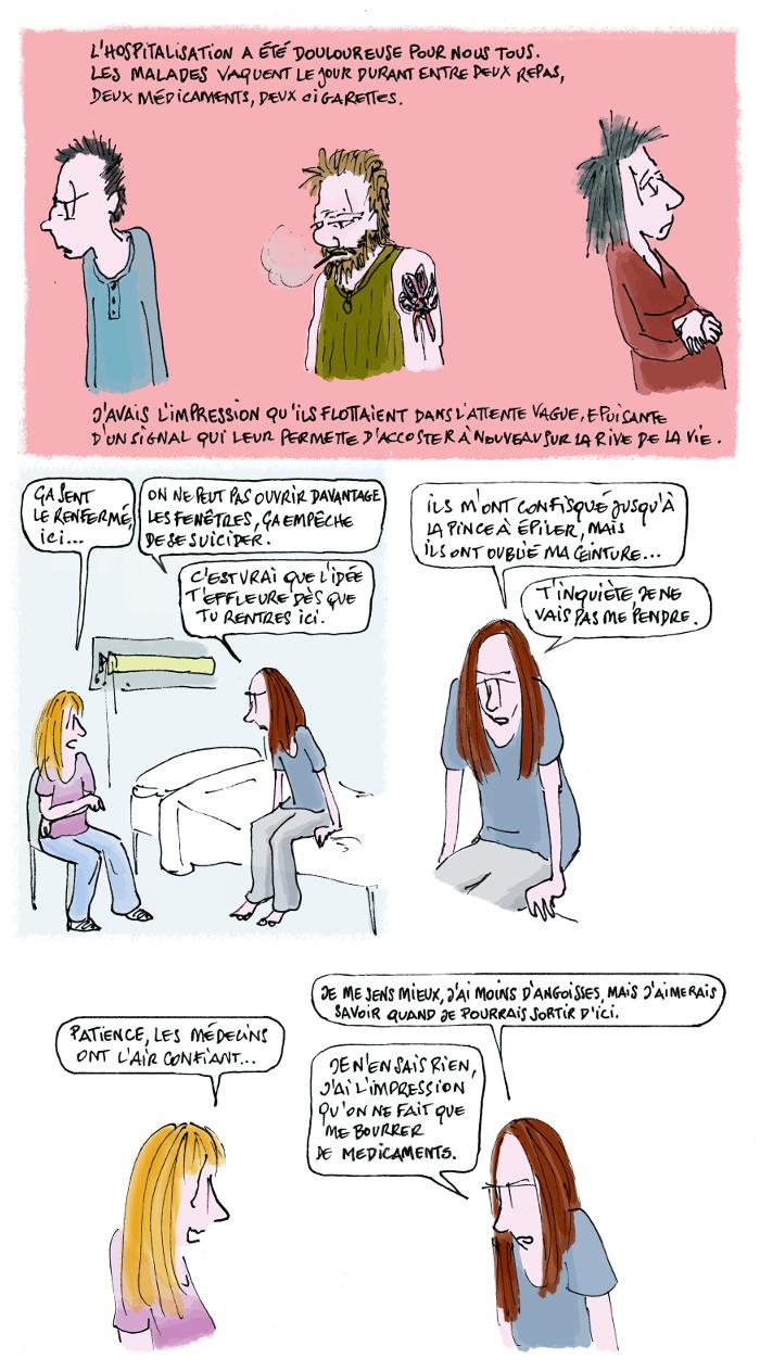 Le jour où ma soeur est devenue schizophrène, 6/8, crédit Fiamma Luzzati