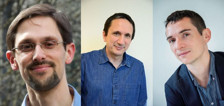 Dr Berna, Pr Llorca, Dr Fond, trois des auteurs de l'étude