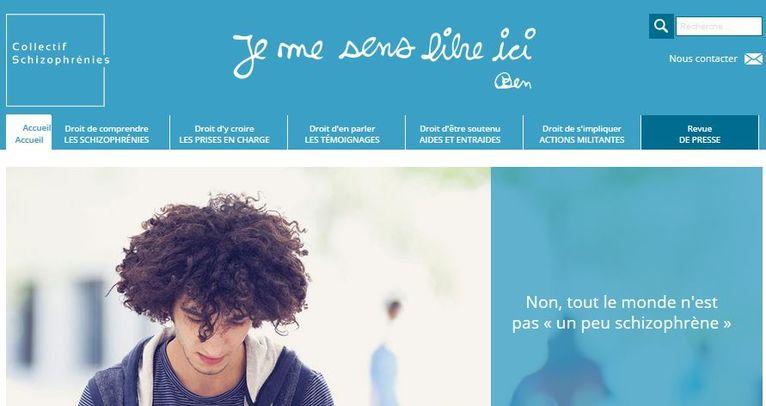 Le portail d'information lancé par le Collectif Schizophrénies