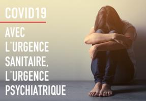 Visuel Manifeste: Avec l'urgence sanitaire, l'urgence psychiatriques
