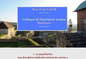 """Colloque """"Psychiatrie ouverte"""" à Besançon"""