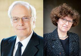 David de Rothschild et Marion Leboyer, crédit Tijana Feterman