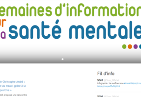 Les Semaines d'information sur la santé mentale