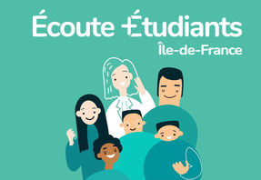 Logo plateforme Ecoute Etudiants Île de France