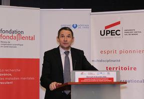 Intervention de Thierry Mandon, Secrétaire d'Etat chargé de l'Enseignement supérieur et de la Recherche, pour soutenir le projet d'Institut FondaMental