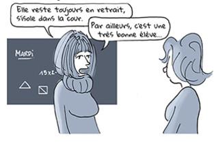 extrait de Aspergirls: ces femmes autistes qui s'ignorent (crédit Fiamma Luzzati)