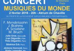 Affiche du concert Place au Piano février 2016