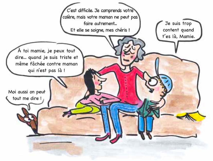 """Extrait de """"La maman de Tom et Lola ne va pas bien"""", Dominique de Saint-Mars"""
